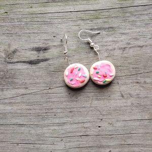 Sugar Cookie Dangle Earrings
